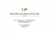 Maître Philippe-georges Feitussi