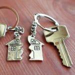 clé séparée en deux